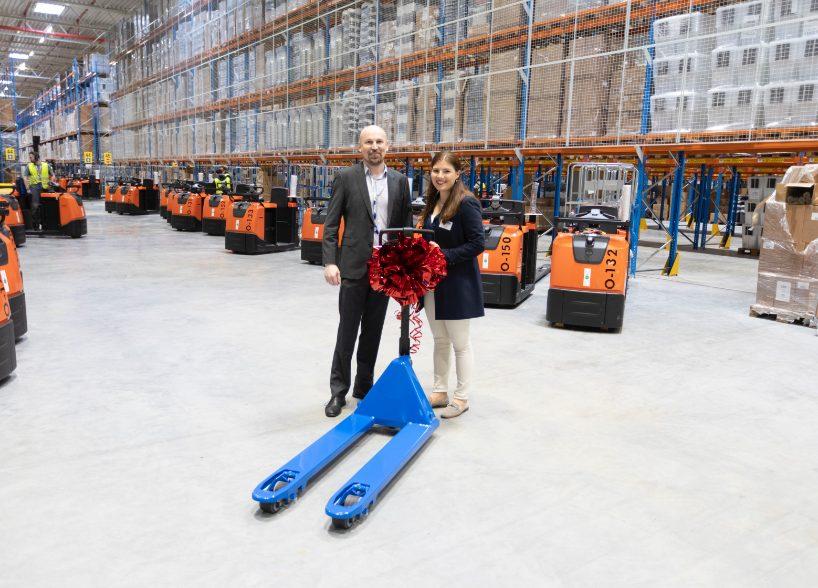 Logistikzentrum-Eröffnung