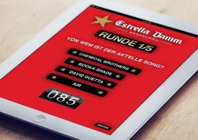 Estrella Damm iPad-Aktion