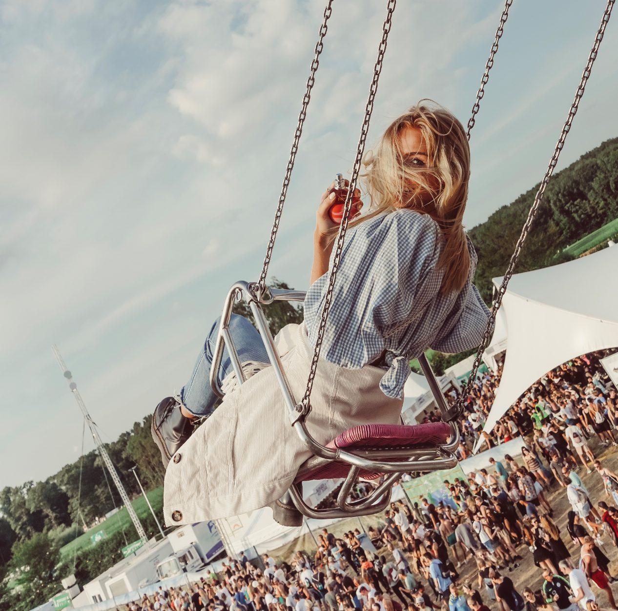 Duftpromotion auf Festivals