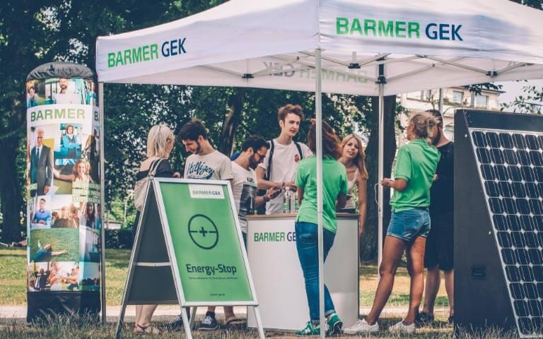 Barmer - Street-Promotion