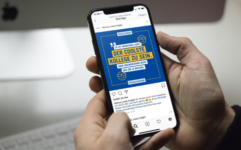 Rhenus Road Freight - Recruiting 2.0 über Instagram