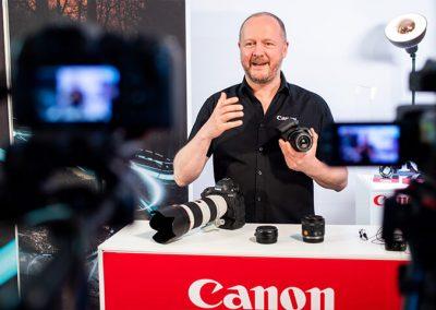 Canon Foto Hamer Testival